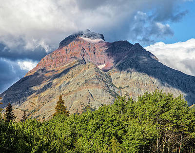 Photograph - Red Rock Peak by Ronald Lutz
