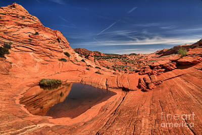 Photograph - Red Rock Pool by Adam Jewell