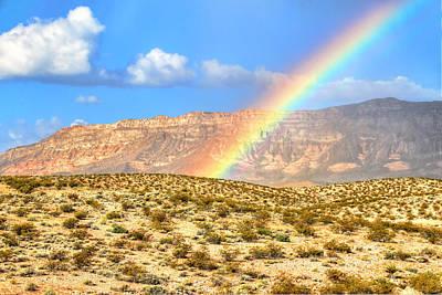 Red Rock Rainbow Original