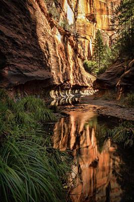 Photograph - Red Rock Reflections  by Saija Lehtonen