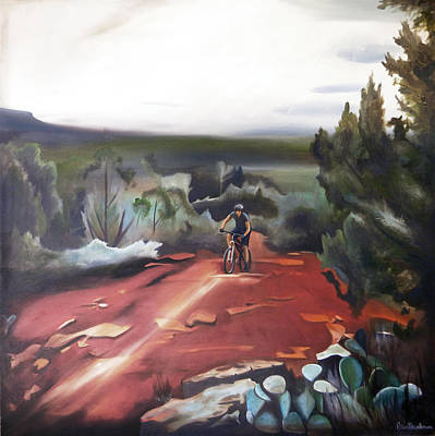Painting - Red Rock Ride by Erin Brinkman