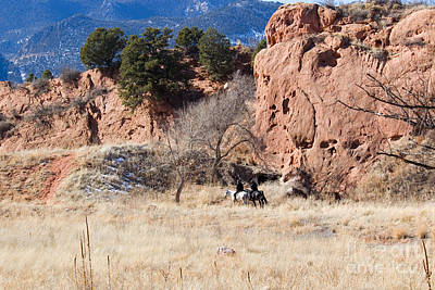 Photograph - Red Rock Riders by Steve Krull