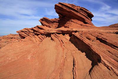 Photograph - Red Rock Sculpture by Aidan Moran