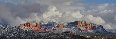 Photograph - Red Rock Winter Magic by Leda Robertson