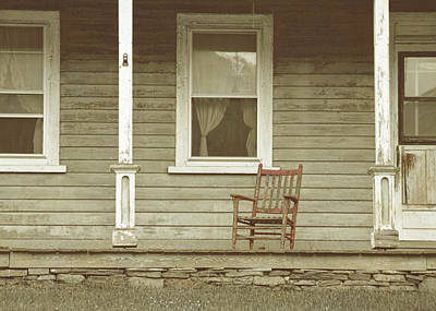 Photograph - Red Rocker by JAMART Photography