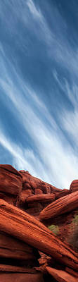 Photograph - Red Rocks Along The Colorado by Gary Warnimont