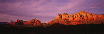 Sedona Photograph - Red Rocks Country, Arizona, Usa by Panoramic Images