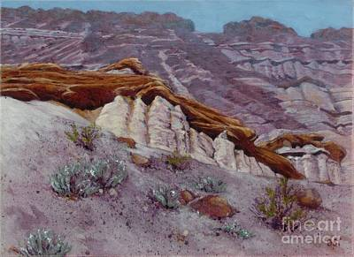 Painting - Red Rocks - High Noon by Betsee  Talavera