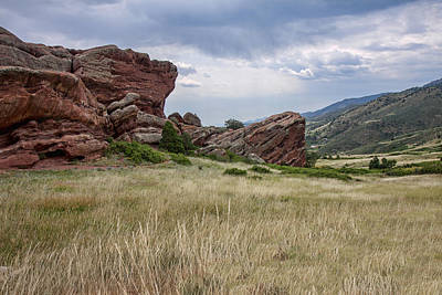 Photograph - Red Rocks I by Shari Jardina