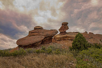 Photograph - Red Rocks II by Shari Jardina