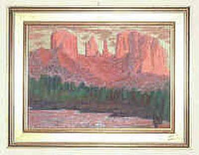 Painting - Red Rocks by Julia Woodman