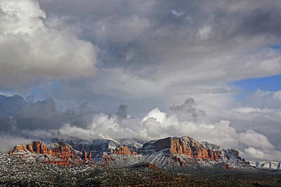 Photograph - Red Rocks Of Sedona by Theo