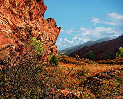 Photograph - Red Rocks Park by Anthony Dezenzio