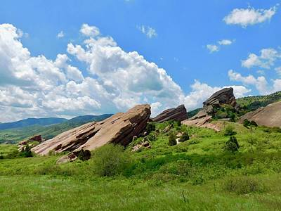 Photograph - Red Rocks Park by Dan Miller