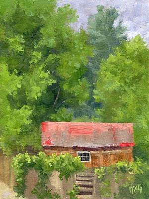 Painting - Red Roof by David King