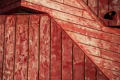 Photograph - Red Roof by Karol Livote