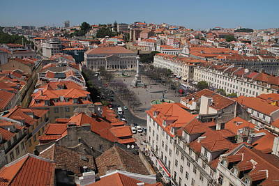 Photograph - Red Rooftops Of Lisbon by Laurel Talabere