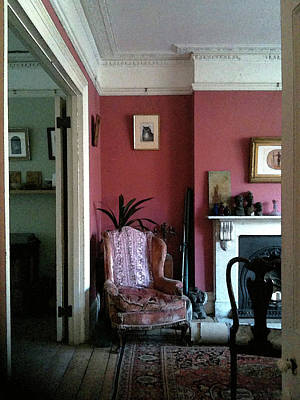 Photograph - Red Room by Anne Kotan