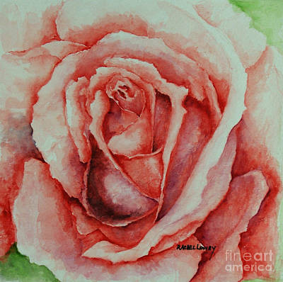 Painting - Red Rose by Rachel Lowry