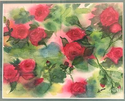 Painting - Red Roses by Lucia Grilletto