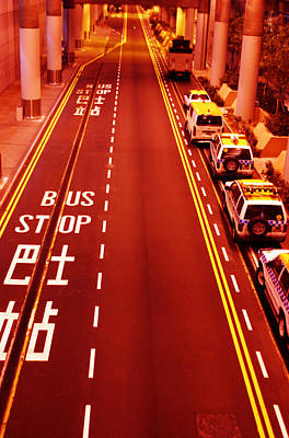 Photograph - Red Route Hong Kong by Jez C Self