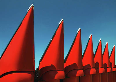 Photograph - Red Row by Todd Klassy