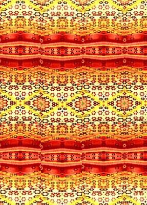 Red Ruby Tea With Lemon Art Print by Devorah Fraser