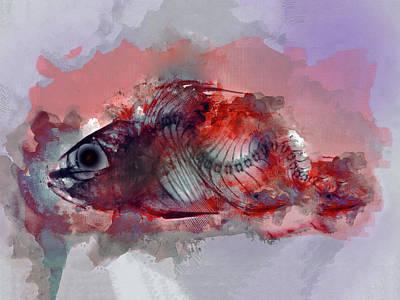 Wall Art - Digital Art - Red Rum by George Michael
