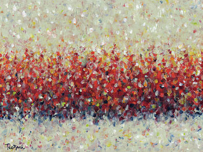 Painting - Red Run by Lynne Taetzsch