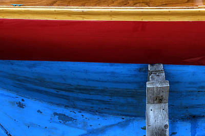 Photograph - Red Sailboat by Geoffrey Coelho