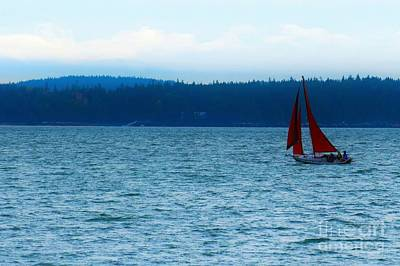 Photograph - Red Sails by Patti Whitten