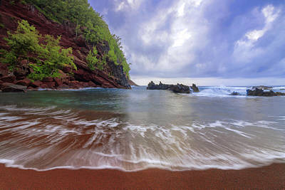 Photograph - Red Sand by Chad Dutson