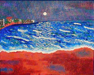 Painting - Red Sands Of Havana by Angela Annas