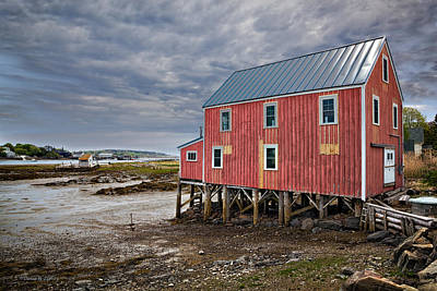 Photograph - Red Sea Barn by Denis Lemay