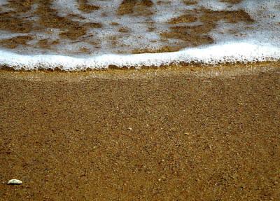 Photograph - Red Sea Meets The Sandy Beach by Johanna Hurmerinta