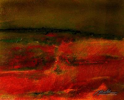 Painting - Red Sea by    Michaelalonzo   Kominsky