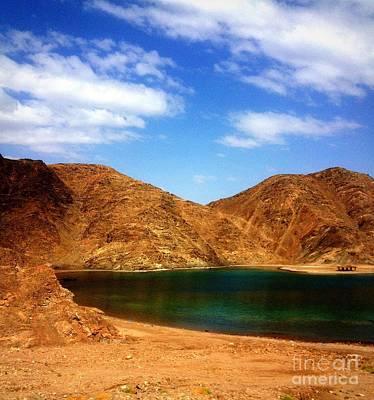 Red Sea Of Sinai Art Print