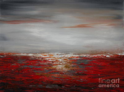 Painting - Red Sea by Preethi Mathialagan