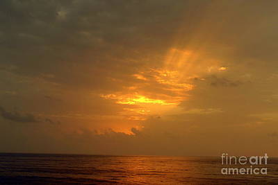 Photograph - Red Sea Sunset 2 by John Potts