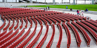 Photograph - Red Seats by John McArthur
