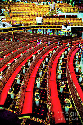 Photograph - Red Seats by Rick Bragan