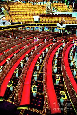Photograph - Red Seats by Rick Bragan