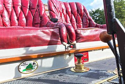 Photograph - Red Seats To Ride In by Terri Waters