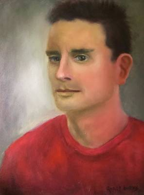 Painting - Red Shirt by Randy Burns