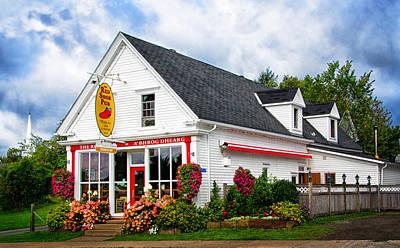 Photograph - Red Shoe Pub by Carolyn Derstine
