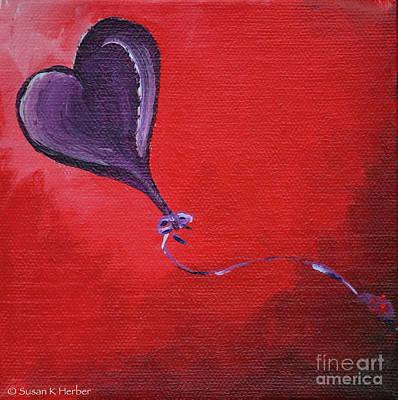 Painting - Red Skies by Susan Herber