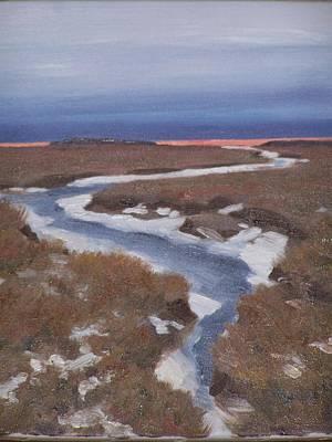 Painting - Red Skies This Morning by David Rodman Johnson