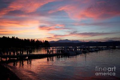 Photograph - Red Sky At Night by Terri Thompson