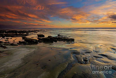 Photograph - Red Sky California by Mike Dawson