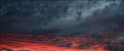 Photograph - Red Sky by Chrissy Skeltis